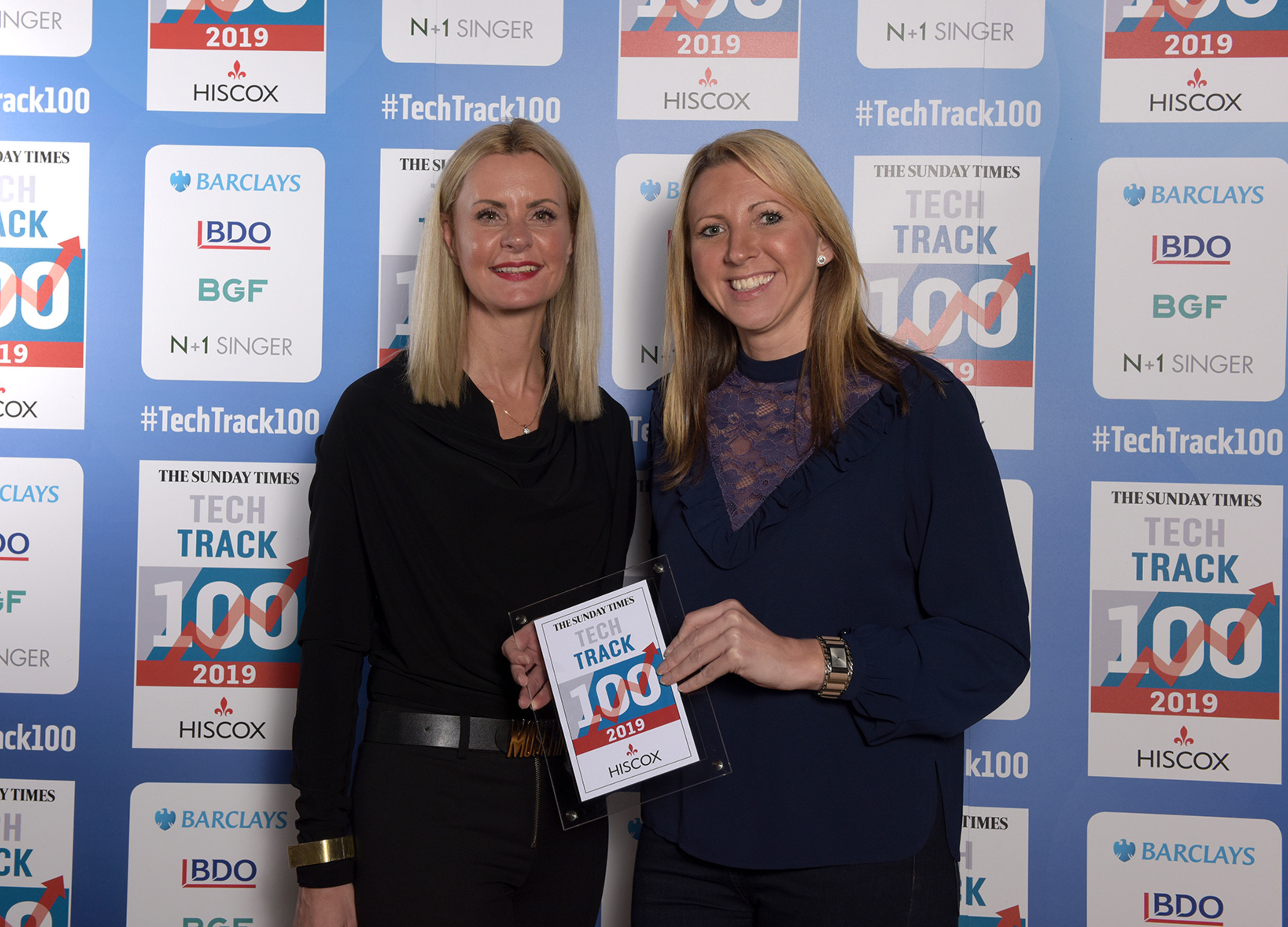 In Touch receives Tech Track 100 award at the prestigious award ceremony